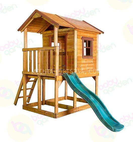 Игровой домик Babygarden на подиуме