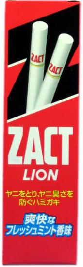 Lion Зубная паста Zact для устранения никотинового налёта и запаха табака 150 г