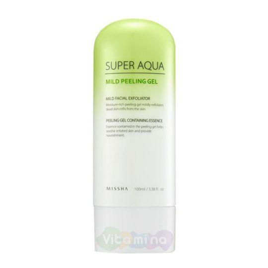 Missha Мягкий пилинг-гель для чувствительной кожи Super Aqua Mild Peeling Gel, 100 мл