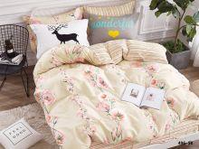 Комплект постельного белья Сатин SK  1.5 спальный  Арт.15/496-SK