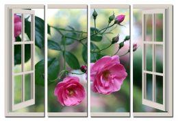 Розы за окном