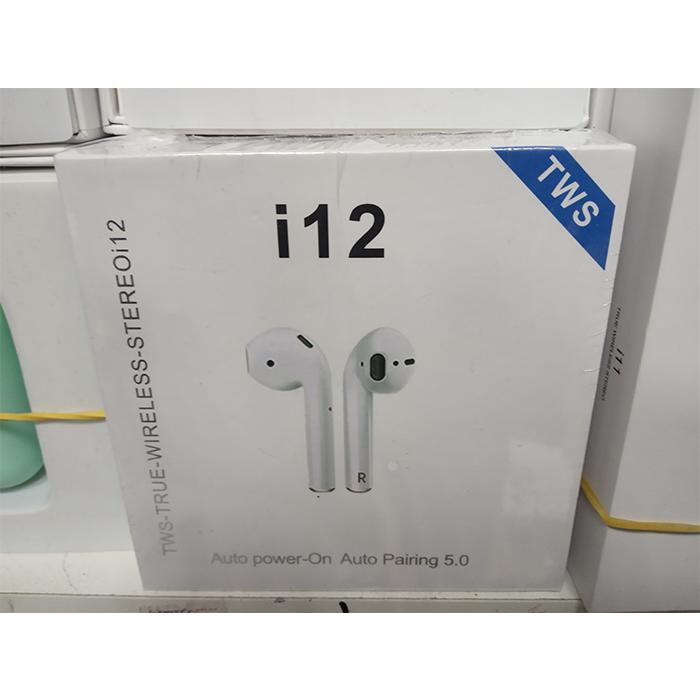 Беспроводные наушники i12 TWS 5.0 белые