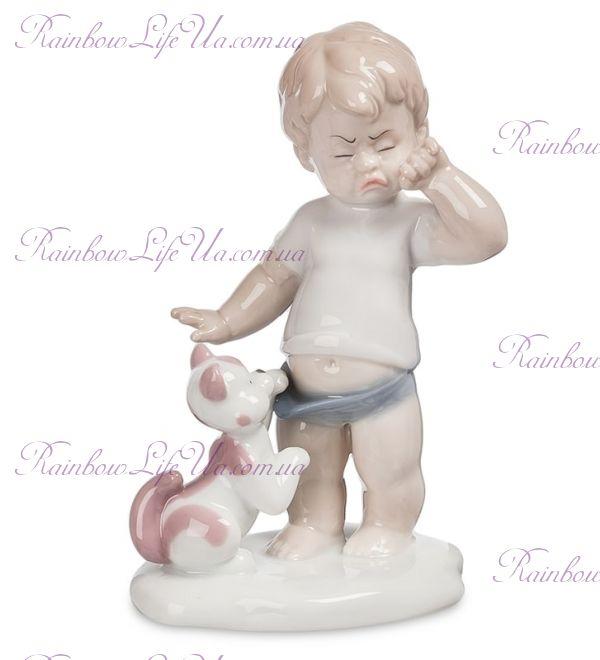 """Фигурка малыш со щенком """"Pavone"""""""