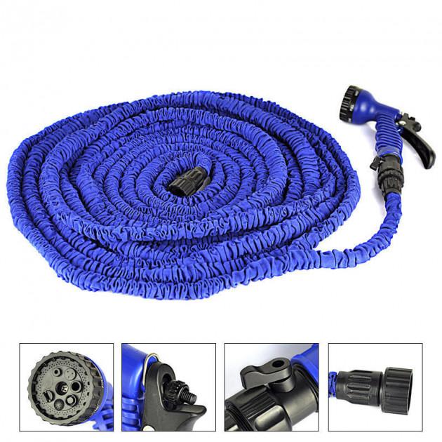 Шланг Водяной Xhose (Икс Хоуз), 60 М, Цвет Синий