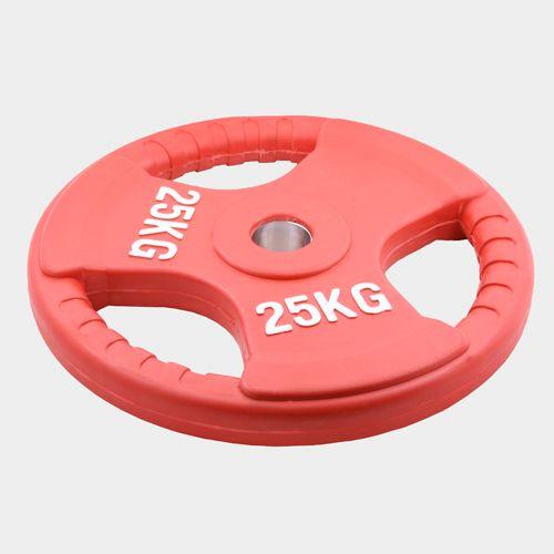 Олимпийский диск евро-классик с тройным хватом 25 кг.