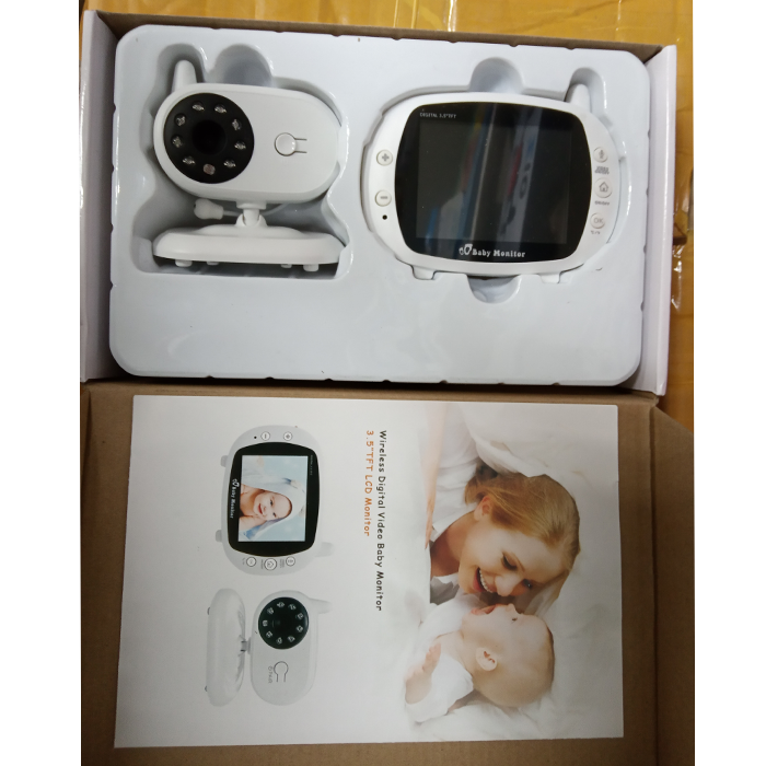 Видеоняня Wireless Digital Video Baby Monitor 3,5 TFT LCD Monitor