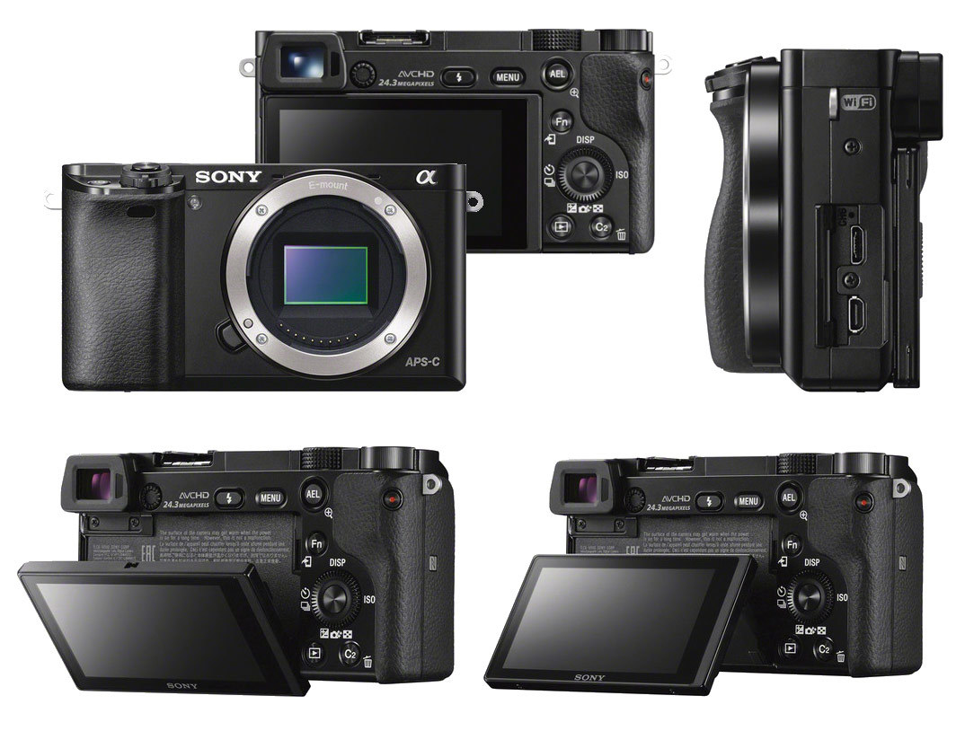 Sony Alpha ILCE-6000 Body