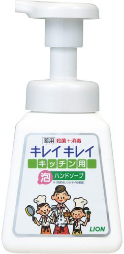 Lion Кухонное антибактериальное мыло-пенка для рук KireiKirei с маслом цитрусовых 230 мл