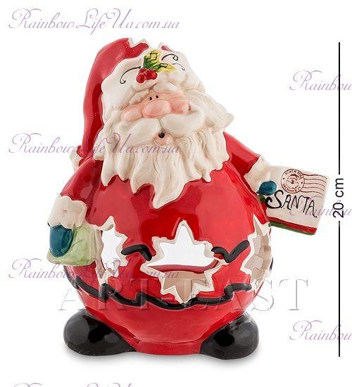 """Подсвечник новогодний Санта """"Pavone"""""""