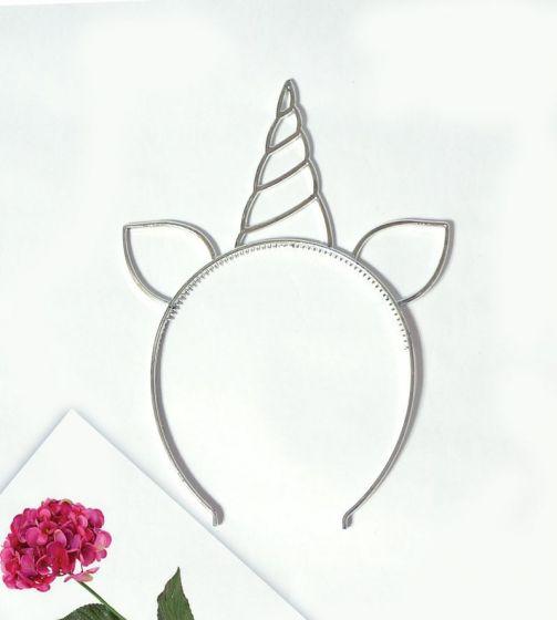 Ободок пластмассовый «Единорог»