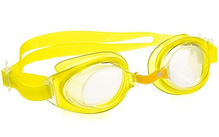 Очки для плавания INDIGO желтые