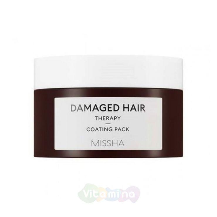 Missha Восстанавливающая маска для поврежденных волос Damaged Hair Coating Pack, 200 мл