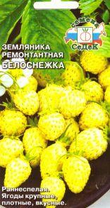Земляника Белоснежка
