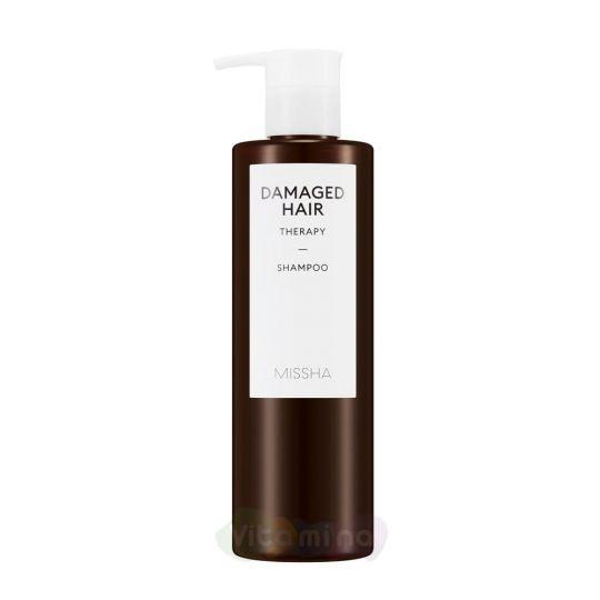 Missha Восстанавливающий шампунь для поврежденных волос Damaged Hair Therapy Shampoo, 400 мл