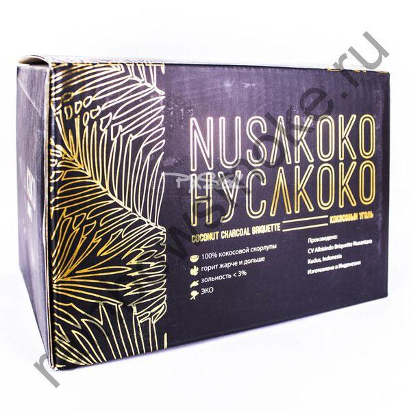 Уголь кокосовый для кальяна NusaKoko 22мм (96шт)