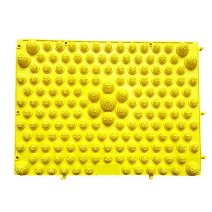 Модульный Коврик-Массажер Для Ног, 37х27 См, Цвет Желтый