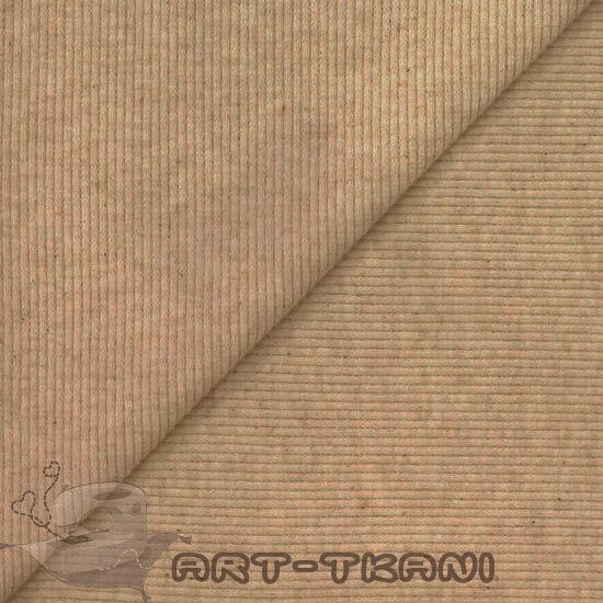 Лоскут трикотажной ткани кашкорсе Какао