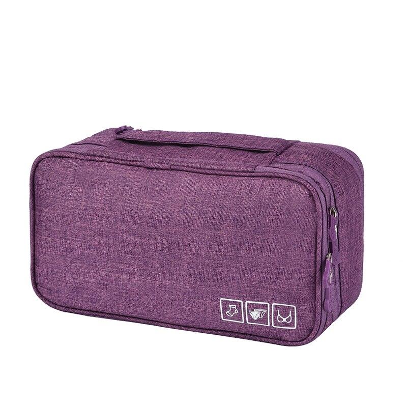 Дорожный Органайзер Для Нижнего Белья Travel Underwear Pouch, Цвет Фиолетовый