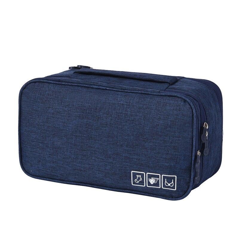 Дорожный Органайзер Для Нижнего Белья Travel Underwear Pouch, Цвет Синий