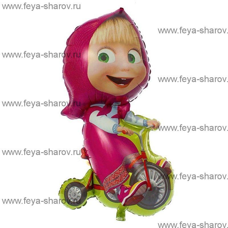 Шар Маша на велосипеде 99 см