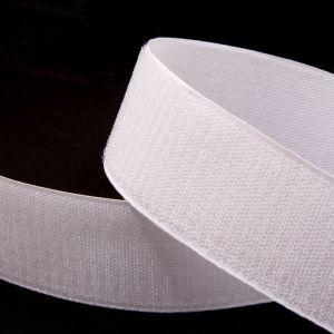 "`Лента-контакт ""Велкро"", ширина 20мм, пара, цвет белый"