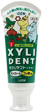 Lion Детская зубная паста Xylident kid's с фтором и пониженным пенообразованием 60 г