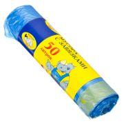 МУЛЬТИПЛАСТ Мешки для мусора с завязками 50л, 10шт, 10 микрон, арт.027010/96096