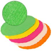 VETTA Набор противоскользящих салфеток 4шт, ПВХ, овал 30х45см, 4 цвета