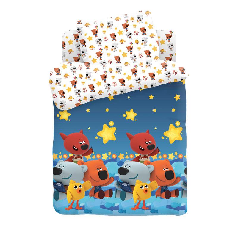 """Детское постельное бельё """"Ночное небо"""", рис.16155-16152 (Ми-ми-мишки)"""