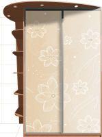 Наклейка на шкаф - Цветочный латте | магазин Интерьерные наклейки