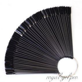 Палитра-веер на 50 оттенков чёрная