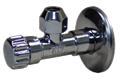 """Вентиль для подключения смесителя (хром)(Размер 1/2""""xM10)"""