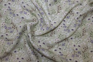 Блузочная ткань фенси креп VT-10185/D2/C#1