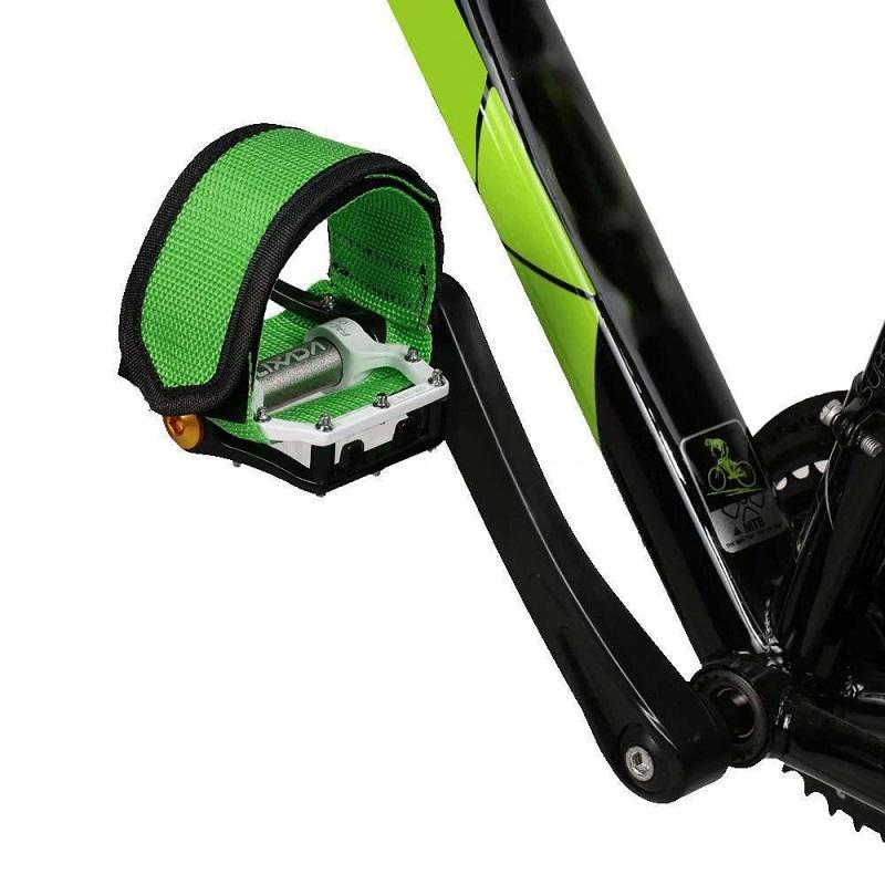 Ремешки (Туклипсы) Для Велосипедных Педалей, 2 Шт, Цвет Зеленый