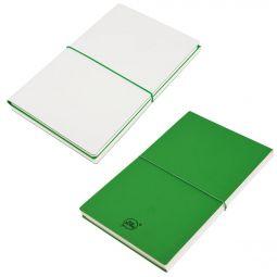 бизнес блокноты Combi 21219 белые с зеленым