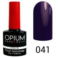 Гель-лак цветной Opium №041 8 мл