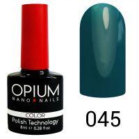 Гель-лак цветной Opium №045, 8 мл