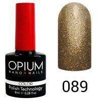 Гель-лак цветной Opium №089, 8 мл