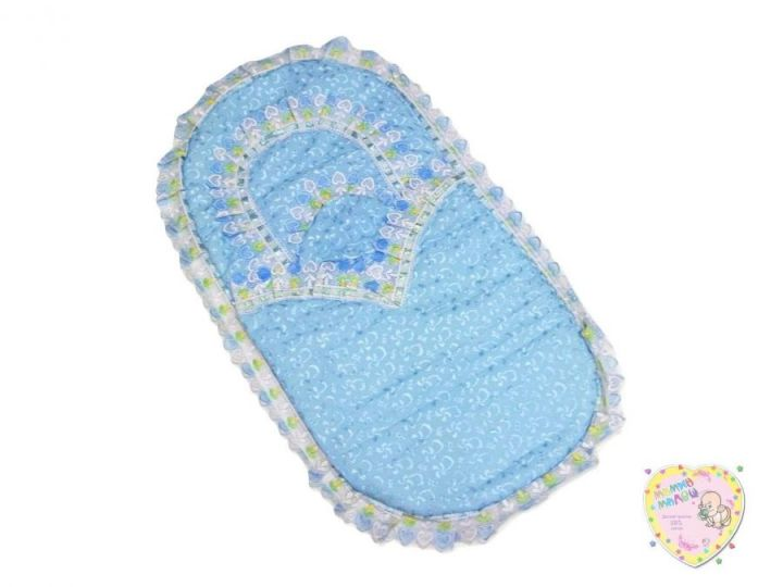 Комплект на выписку летний 5 предметов 01277 (батист голубой)