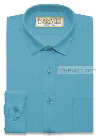 Сорочка детская Tsarevich (6-14 лет) выбор по размерам арт.Blue Aster slim  ПРИТАЛЕННАЯ