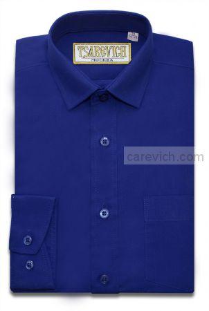 Рубашка для первоклассника 29(116-122) арт. Royal slim (приталенная) длинный рукав