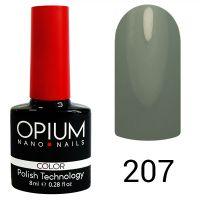 Гель-лак цветной Opium №207, 8 мл
