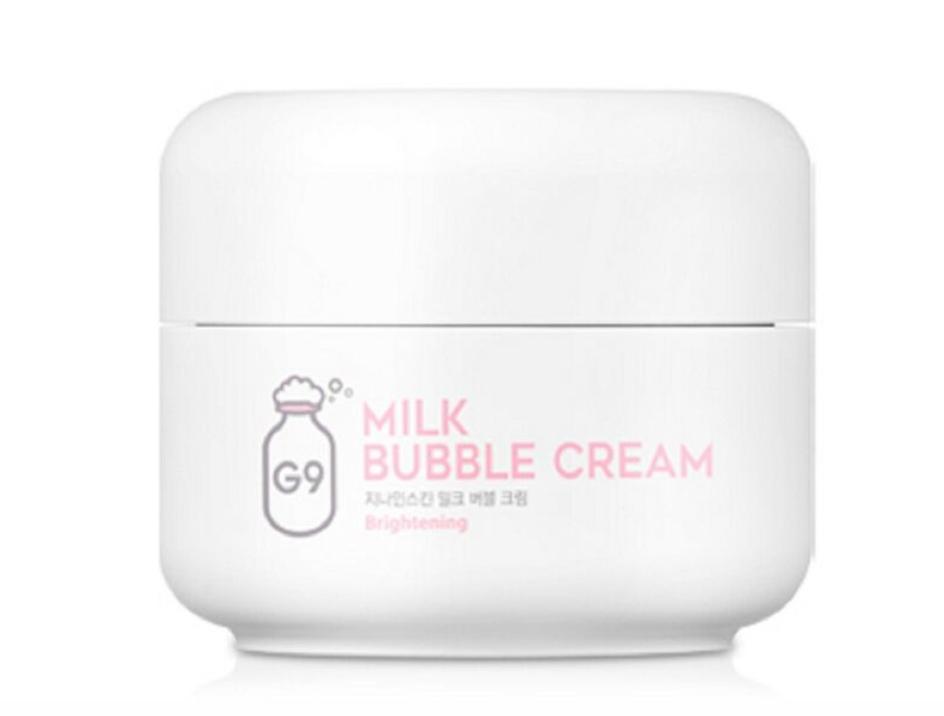Крем для лица Berrisom G9skin Milk Bubble Cream 50гр