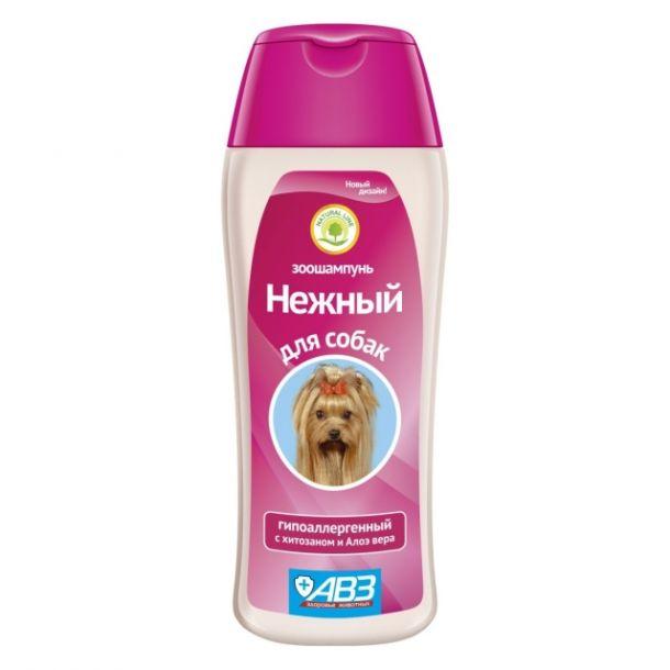"""Шампунь Агроветзащита """"Нежный""""  для собак гипоаллергенный, 270гр"""