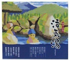 """""""Fuso Kagaku"""" Соль для ванны с минералами шести термальных источников и ароматами цитрусов, шалфея, эвкалипта, зеленого яблока, мяты, цветочного букета (30 пакетиков *25 гр.)"""