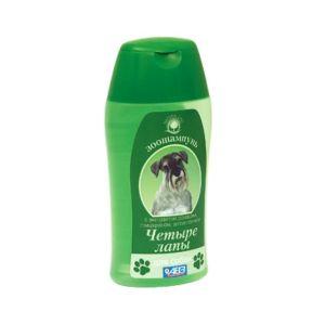"""Шампунь Агроветзащита  """"Четыре лапы"""" для ежедневного мытья лап у собак, 180гр"""