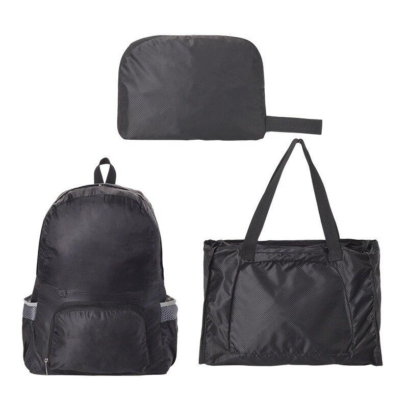 Водонепроницаемый Складной Рюкзак-Трансформер 2 В 1 Magic Backpack, Цвет Черный