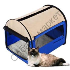 Палатка выставочная для кошек и собак 60*46*50 /размер М