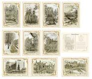 Набор винтажных почтовых открыток - КИСЛОВОДСК.