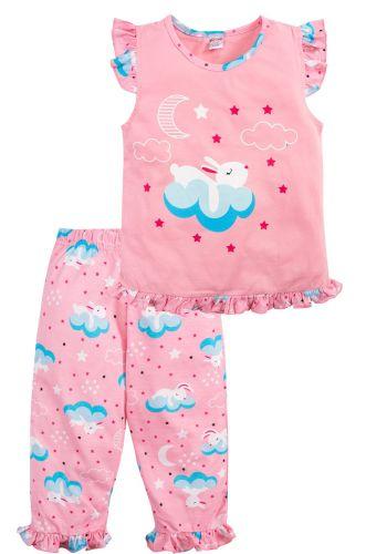 Пижама для девочек 3-7 лет Bonito розовая